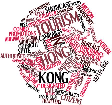 comprising: Abstract word cloud for Tourism in Hong Kong with related tags and terms