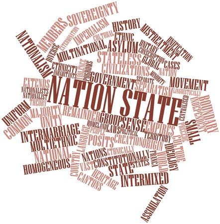 maltrato: Nube palabra abstracta para el estado de la Nación con las etiquetas y términos relacionados