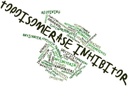 genomic: Abstract word cloud for Topoisomerase inhibitor with related tags and terms