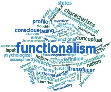 dualism: Nube palabra abstracta para el funcionalismo con etiquetas y t�rminos relacionados