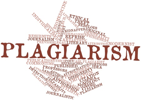 plagiarism: Abstract word cloud for Plagiarism with related tags and terms