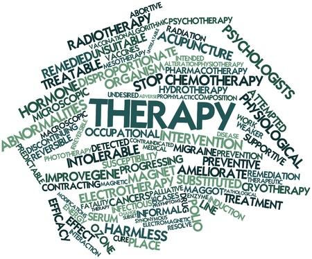 ozon: Abstraktes Wort-Wolke für Therapie mit verwandte Tags und Begriffe