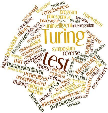 dualism: Nube palabra abstracta para Turing test con etiquetas y t�rminos relacionados