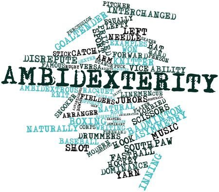 weaker: Abstract word cloud for Ambidexterity with related tags and terms