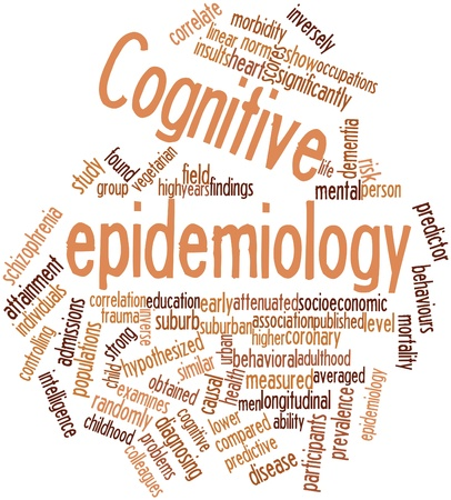 correlate: Abstract word cloud for Cognitive epidemiology with related tags and terms