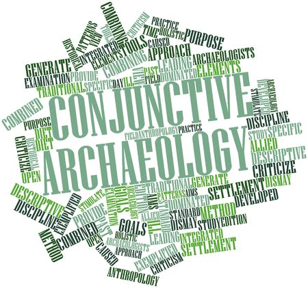 holistic view: Abstract word cloud for Conjunctive archaeology with related tags and terms
