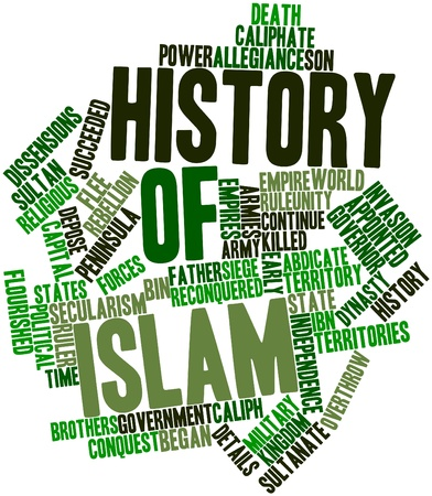 lasted: Abstract word cloud for History of Islam with related tags and terms
