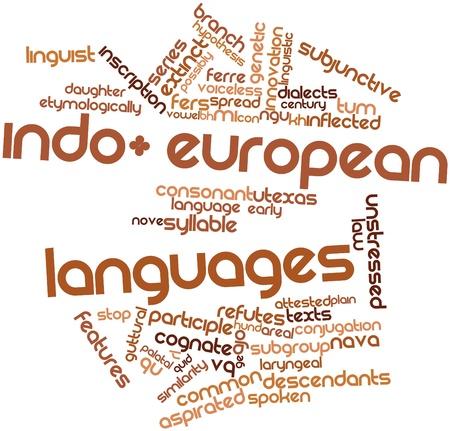 typology: Nube palabra abstracta para las lenguas indoeuropeas con las etiquetas y t�rminos relacionados