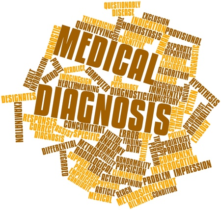 questionably: Abstract word cloud for Medical diagnosis with related tags and terms