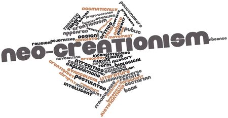 Abstract word cloud for Neo-creationism with related tags and terms Stock Photo - 17196335