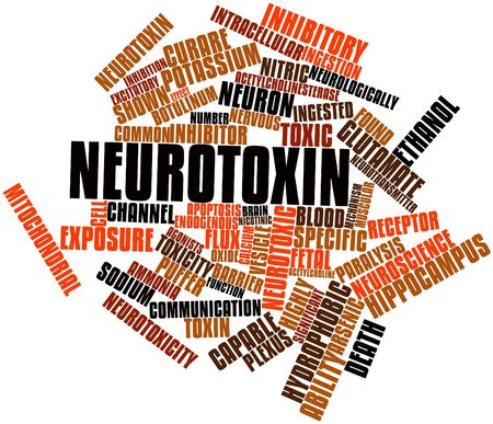 Abstract word cloud for Neurotoxin with related tags and terms Stock Photo - 17197866