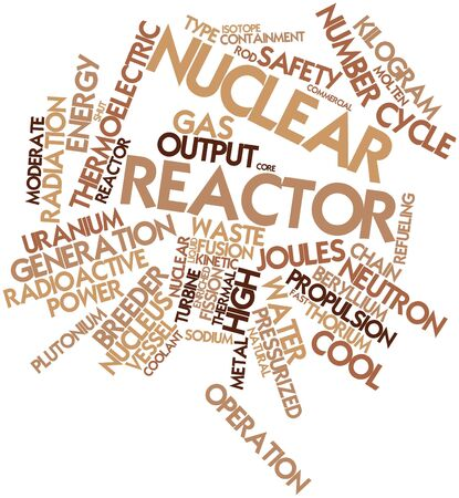 enriched: Abstract word cloud for Nuclear reactor with related tags and terms