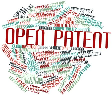 increasingly: Abstract word cloud for Open patent with related tags and terms