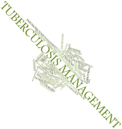 macrophages: Abstract word cloud for Tuberculosis management with related tags and terms
