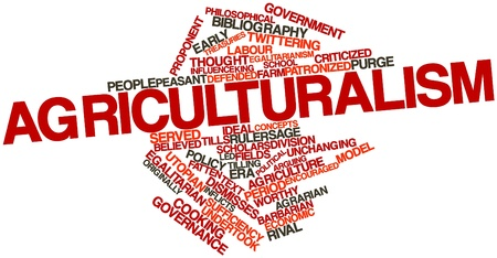 Abstract word cloud for Agriculturalism with related tags and terms