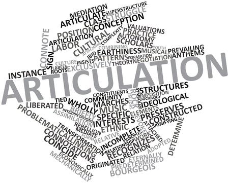 relaciones laborales: Nube palabra abstracta para la articulaci�n con las etiquetas y t�rminos relacionados Foto de archivo