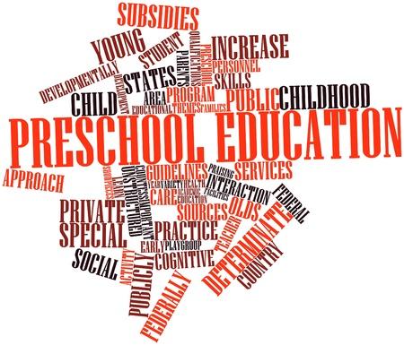 reparations: Nube de palabras abstracto para la educaci�n preescolar con etiquetas y t�rminos relacionados