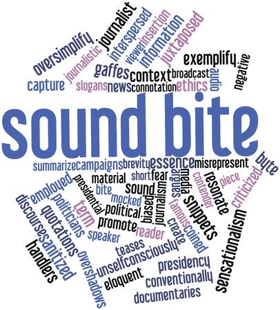 関連するタグと用語の健全なかみ傷のための抽象的な単語雲