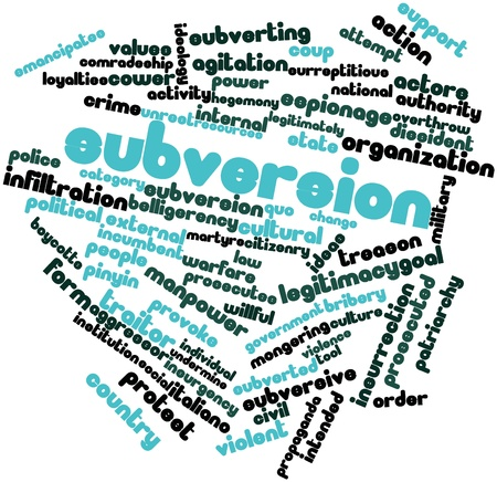 subversive: Abstract word cloud for Subversion with related tags and terms