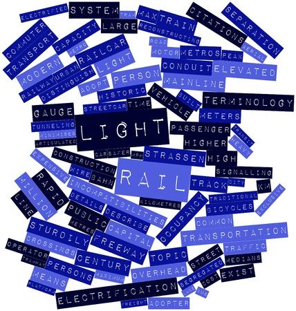emigranti: Word cloud astratto per metropolitana leggera con tag correlati e termini