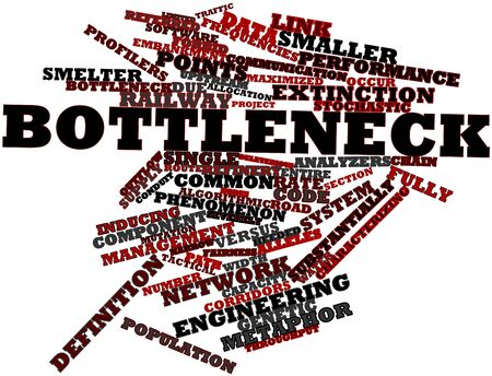 characterizing: Abstract word cloud for Bottleneck with related tags and terms