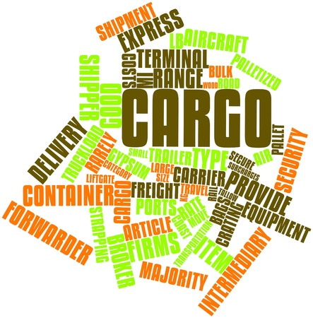 forwarder: Abstract word cloud for Cargo with related tags and terms