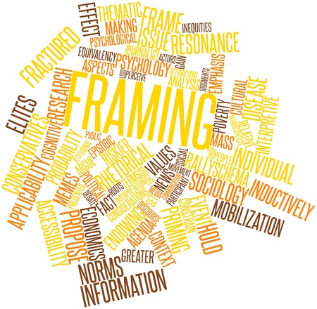 sociological: Abstract word cloud for Framing with related tags and terms