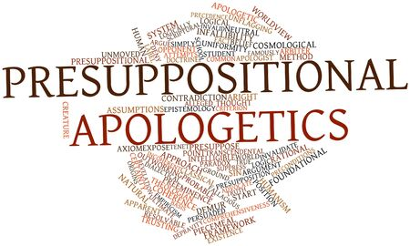 Abstract word cloud for Presuppositional apologetics with related tags and terms Stock Photo - 17397604