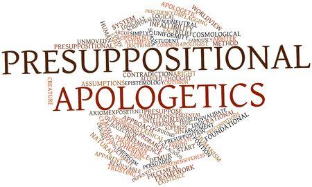 inteligible: Nube palabra abstracta para la apologética presuposicional con etiquetas y términos relacionados