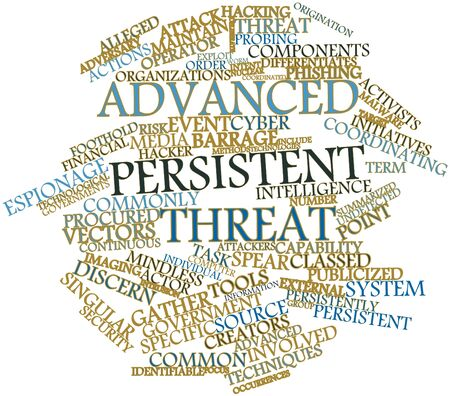 Abstract word cloud for Advanced persistent threat with related tags and terms