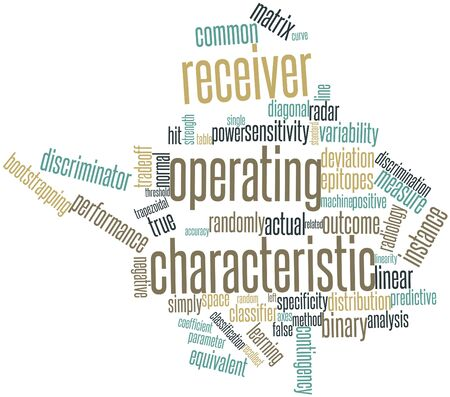corresponds: Abstract word cloud for Receiver operating characteristic with related tags and terms