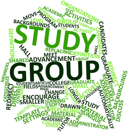regularly: Abstract word cloud for Study group with related tags and terms
