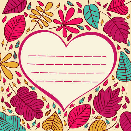 valentine s day: Valentine s day abstract background with cut paper heart. illustration