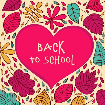 semester: Back to School Typographic Elements - Vintage Style Back to School and Looking Cool Design Layout