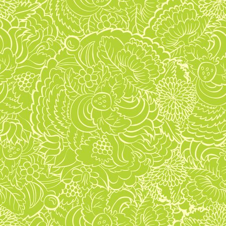 Hand painted watercolor flower seamless pattern background