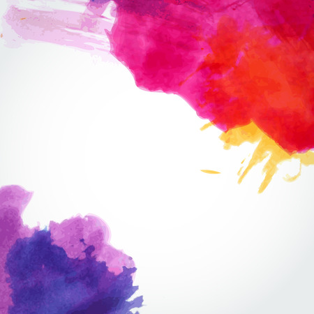 Abstract watercolor background. Ink illustration. Hand painted watercolor backgrounds. Watercolor washes. 일러스트