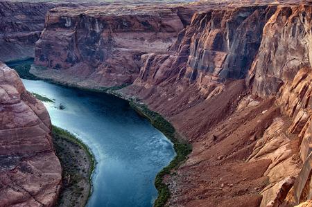 Horseshoe Bend, Arizona Stok Fotoğraf