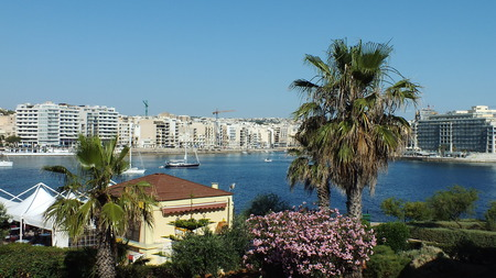 best place: tropic view of Malta island best place for holiday
