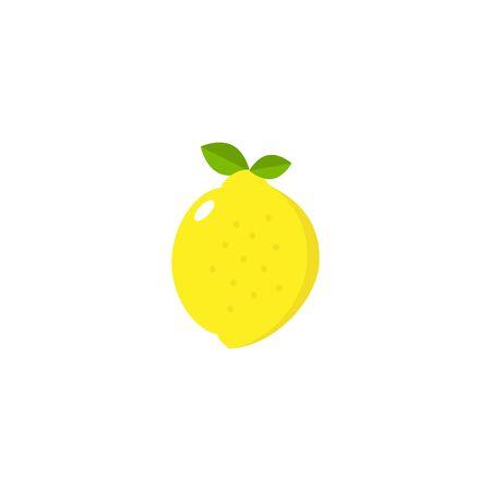 Lemon Icon Vector - Fruit Icon