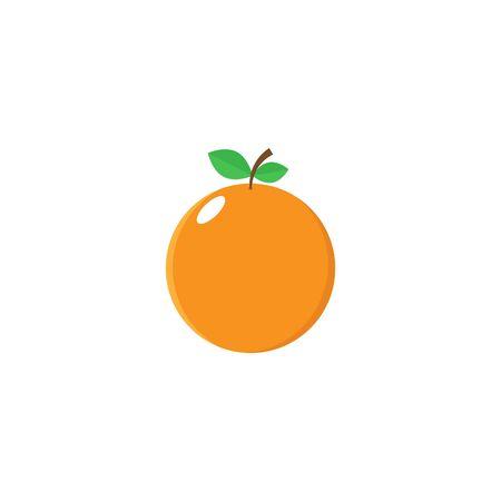 Orange Icon Vector - Fruit Icon