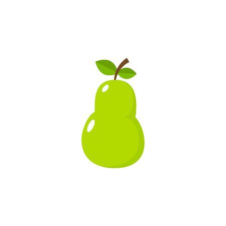 Pear Icon Vector - Fruit Icon