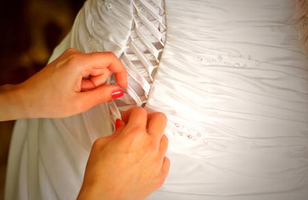 corset: Wedding dress corset