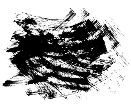 anointed: Hand drawn of grunge texture. Brush strokes of black ink. Vector illustration. Abstract texture. Illustration