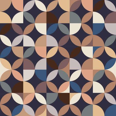 Crafted seamless Geometric patterns 矢量图像