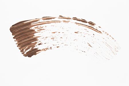 Sample mascara, isolated on a white background Stock Photo