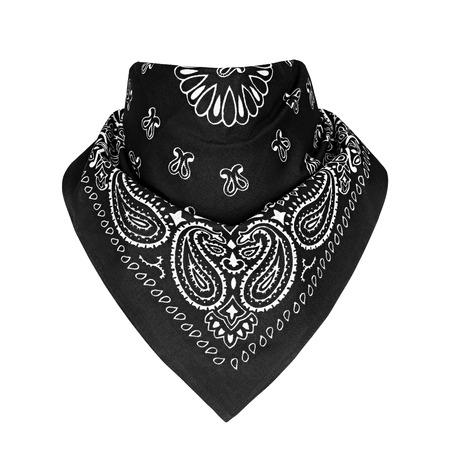 Bandana, motif, sur fond blanc isolé Banque d'images - 80490370