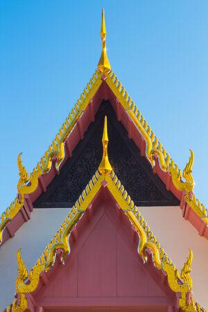 gable: Roof gable in Thai