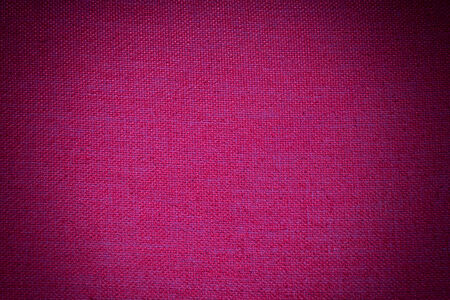vignette: red fabric texture with vignette filter
