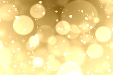 smooth background: Gold bokeh and lighting background Stock Photo