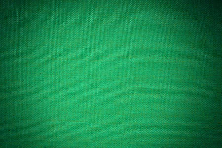 vignette: green fabric texture with vignette filter